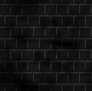 Black Wall Brick Background Tile